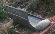 Mark VI photon torpedo casing, open