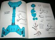 Star Trek Action Toy Book - Klingon cruiser page