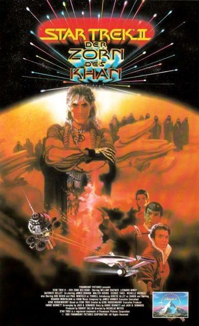 Star Trek II (Kinofassung - VHS Frontcover)