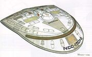 USS Enterprise-D battle bridge design
