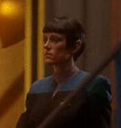 Vulcan science officer DS9