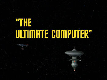 The Ultimate Computer title card