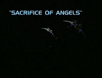 Sacrifice of Angels title card