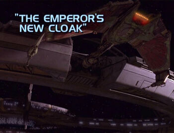 The Emperor's New Cloak title card