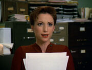 Bajoran at the office