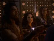 Die Söhne von Mogh wollen von Worf getötet werden