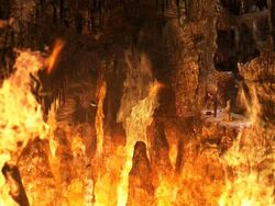 Fire caves