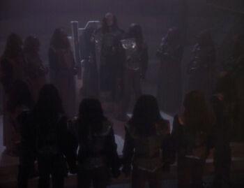 ...as a Klingon councilman