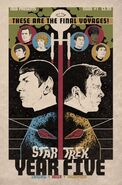 Star Trek Year Five 1 cover RI A