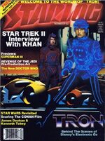 Starlog issue 062 cover