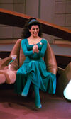Troi cheers, 2366