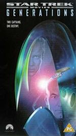 Generations 1998 UK VHS cover