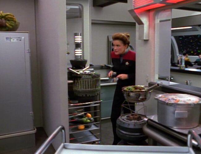 Janeway on Kitchen