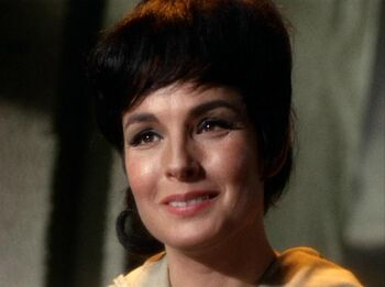 Nancy Crater as McCoy first saw her...