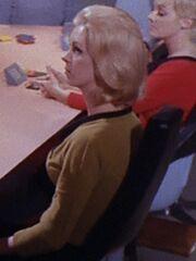 Sternenflottenoffizierin Enterprise 2267 Sternzeit 3289