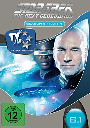 TNG Staffel 6-1 DVD