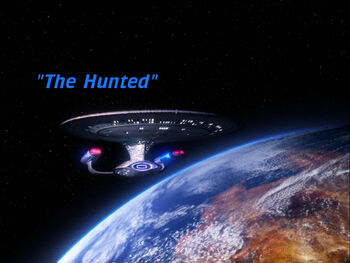 The Hunted title card