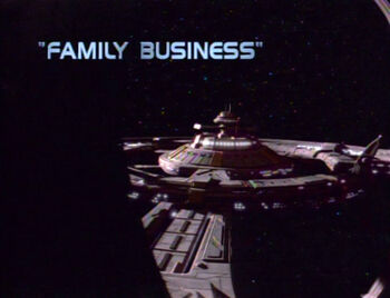 Family Business title card