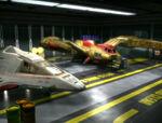Irinas ship in hangar