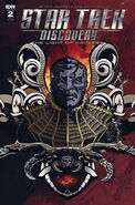 Star Trek Discovery - The Light of Kahless, issue 2 RI-A