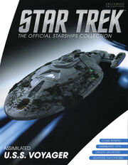 Star Trek Official Starships Collection Assimilated USS Voyager cover F