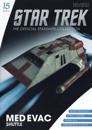 Star Trek Official Starships Collection Shuttle Issue 15