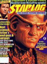 Starlog issue 190 cover