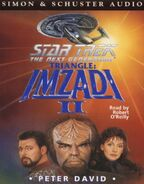 Triangle Imzadi II audiobook cover, UK cassette edition
