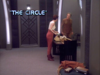 The Circle title card