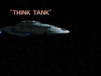 Think Tank title card