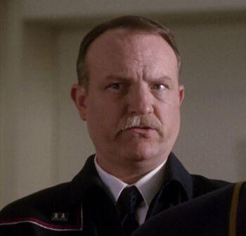 Jim Beaver as Admiral Daniel Leonard
