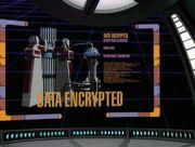 Encrypted Equinox warp core data