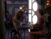 Odo and Kira discuss Jem'Hadar youth