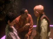 Quark will sich nicht von Sisko herumkommandieren lassen