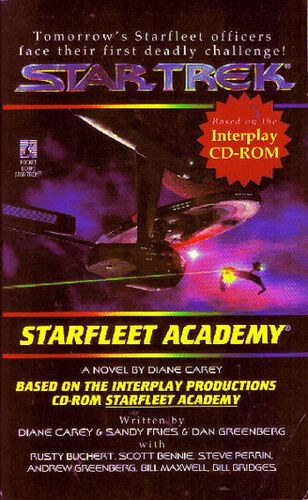 Cover of <i>Starfleet Academy</i> novelization