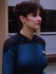 Weiblicher Fähnrich Wissenschaft USS Enterprise-D 2364