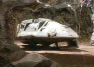 Bajoran raider in cave