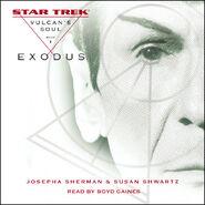 Exodus audiobook cover, abridged version