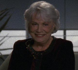 """Lorinne Vozoff as Irene Hansen on """"Star Trek: Voyager"""""""