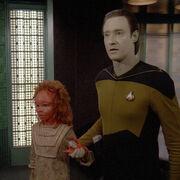 Sarjenka on Enterprise
