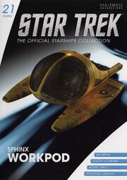 Star Trek Official Starships Collection Shuttle issue 21
