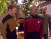 Starfleet blood screening officers