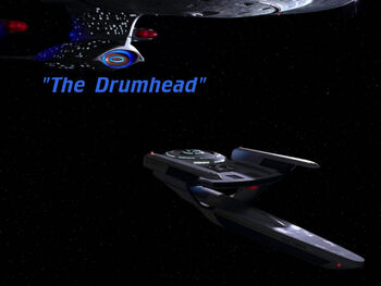 The Drumhead title card