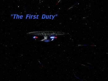 The First Duty title card