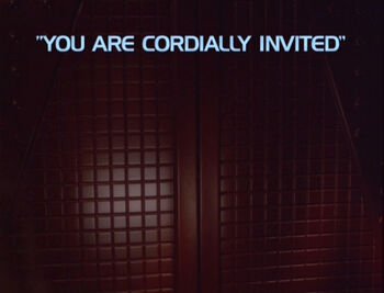 You Are Cordially Invited title card