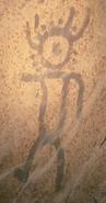 Humanoid painting