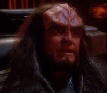 Captain K'Vada in 2368