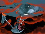 Kosmische Wolke Enterprise
