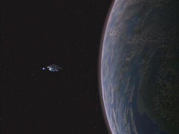 Ledos from orbit