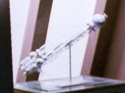 Malcorian warp ship model